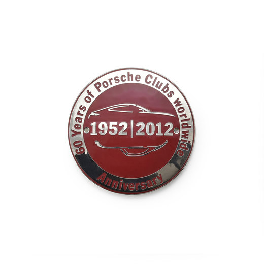 60 years Porsche Clubs worldwide グリルバッジ