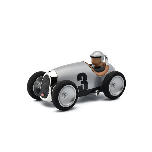 Racing Car Toy シルバー